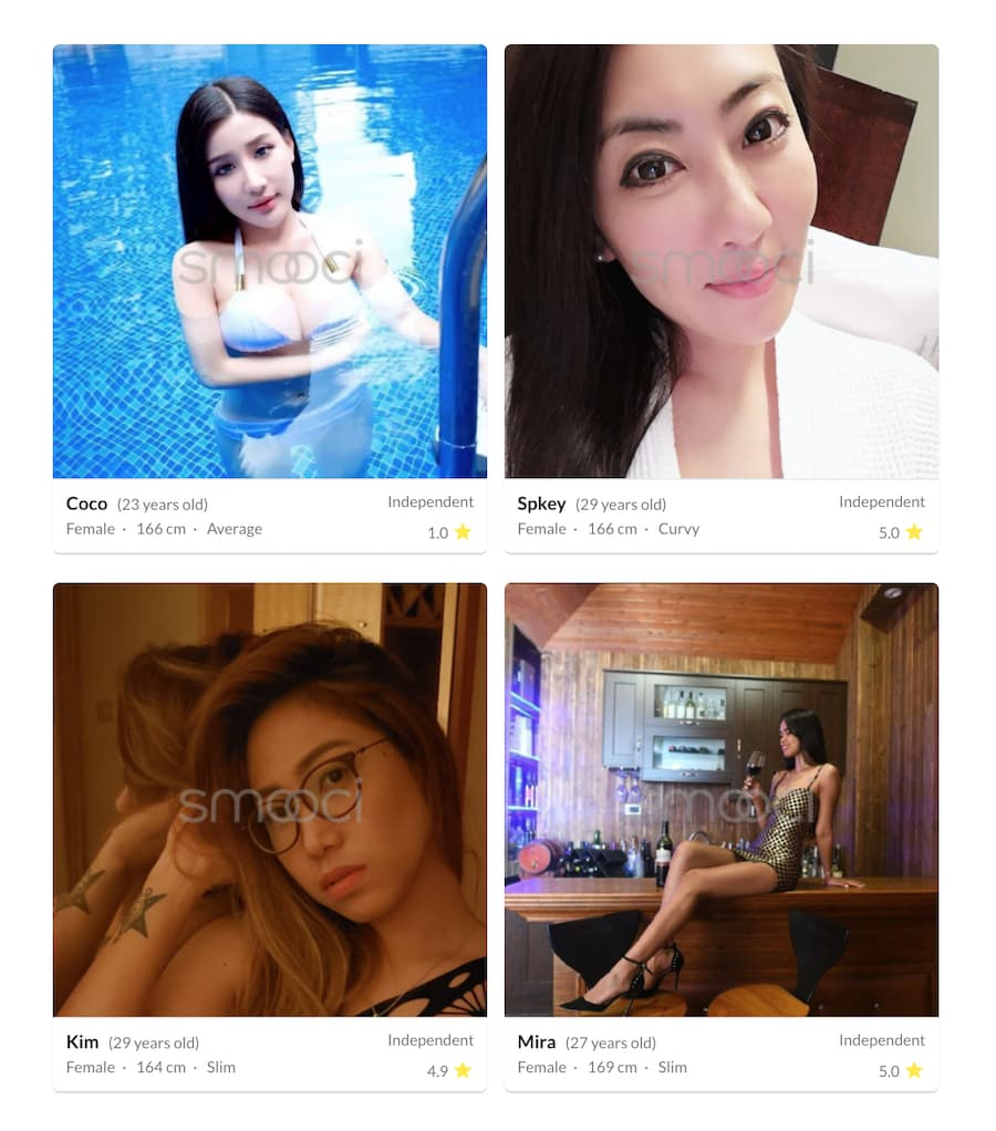 smooci app escorts hong kong