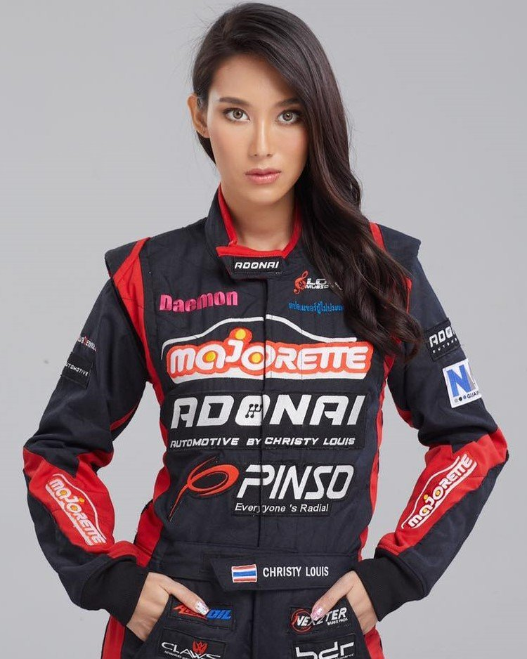 Christy Louis driver offical photo