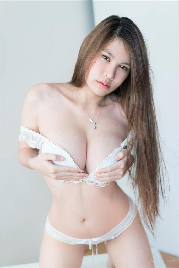 gorgeous Arisa Katchawarang photo for Playboy Thailand with busty open bra