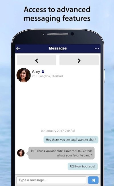 thaicupid app chat screenshot