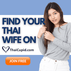 ThaiCupid small ad banner for Thai Girl Mag in 2021